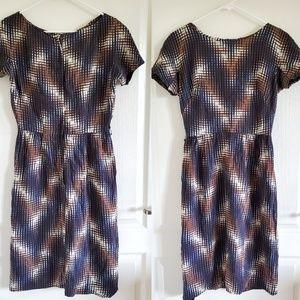 Vintage 60s Mod Wiggle Dress